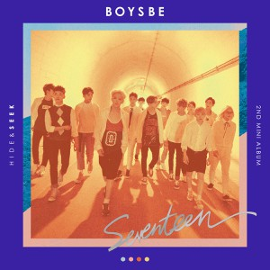 Seventeen - 2nd Mini Album BOYS BE หน้าปก SEEK Ver