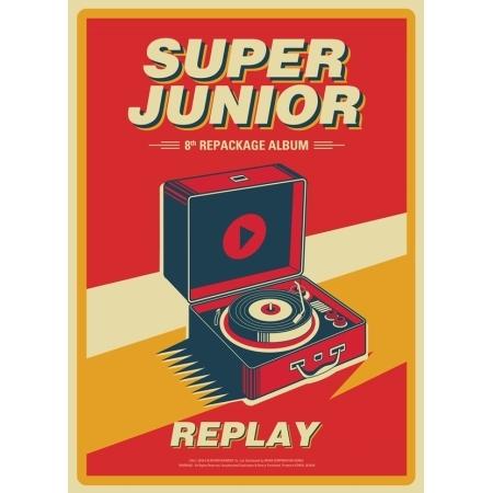 Super Junior - Album Vol.8 Repackage [REPLAY]