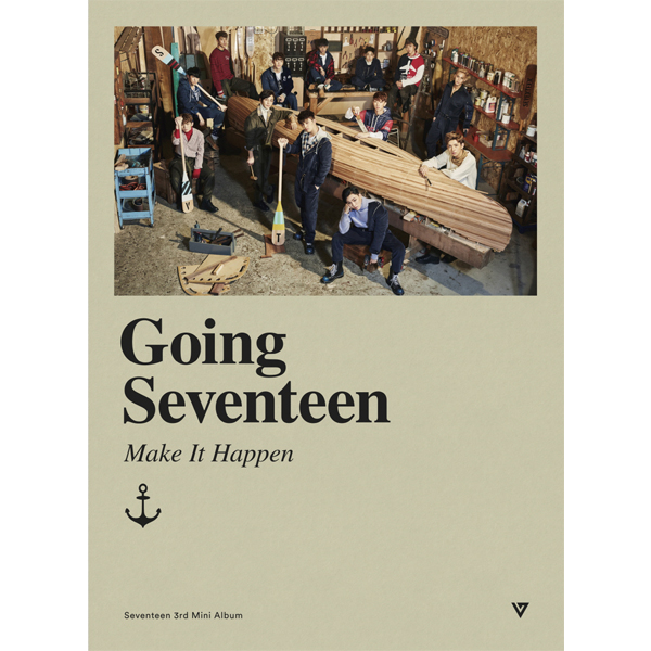Seventeen - Mini Album Vol.3 [Going Seventeen] (Make It Happen (B) ver.)