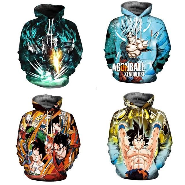 เสื้อกันหนาว Dragon Ball 3D (สั่งพิเศษพรีออเดอร์)