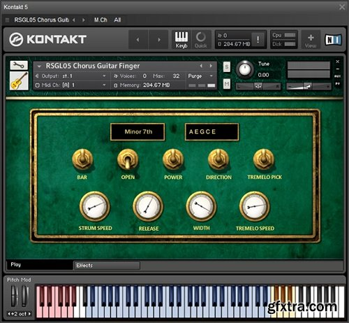 Replika Sound - Chorus Guitar KONTAKT