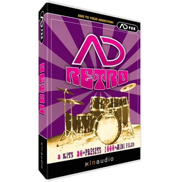XLN Audio Addictive Drums ADPAK RETRO