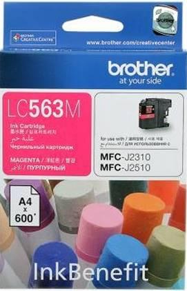 BROTHER INK CARTRIDGE LC-563M สีแดง