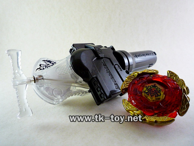 Beyblade Metal Fusion Fight Launcher Grip Clear Shooter HK [TAKARATOMY]