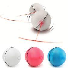 Magic Ball LED บอลมหัศจรรย์วิ่งอย่างไร้ทิศทาง เปิดปิดไฟได้