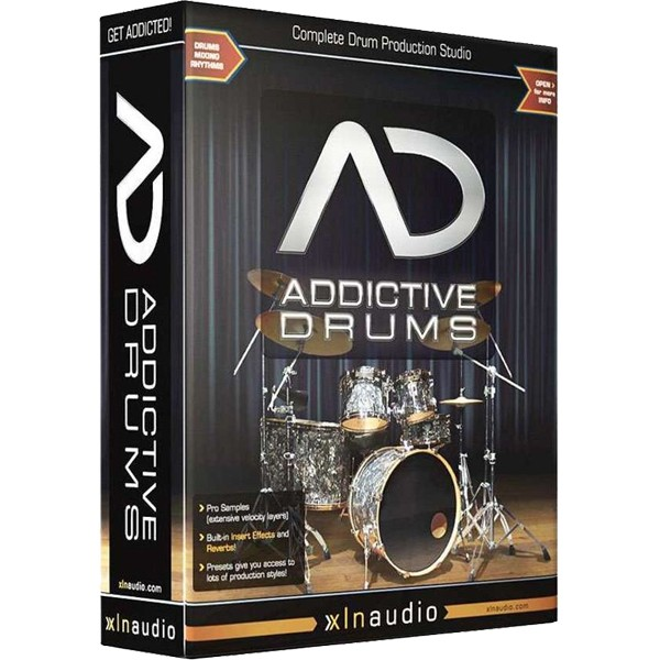 XLN Audio Addictive Drums V.1.5.2