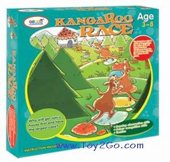 จิงโจ้วิ่งแข่ง Kangaroo Race