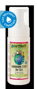 แชมพูอาบแห้ง Earthbath Grooming Foam for Cats สูตรชาเขียว