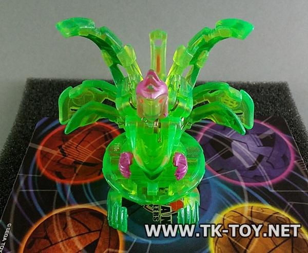 [บาคุกัน] Bakugan Ingram Ventus Translucent Green 710G B3 Bakuneon
