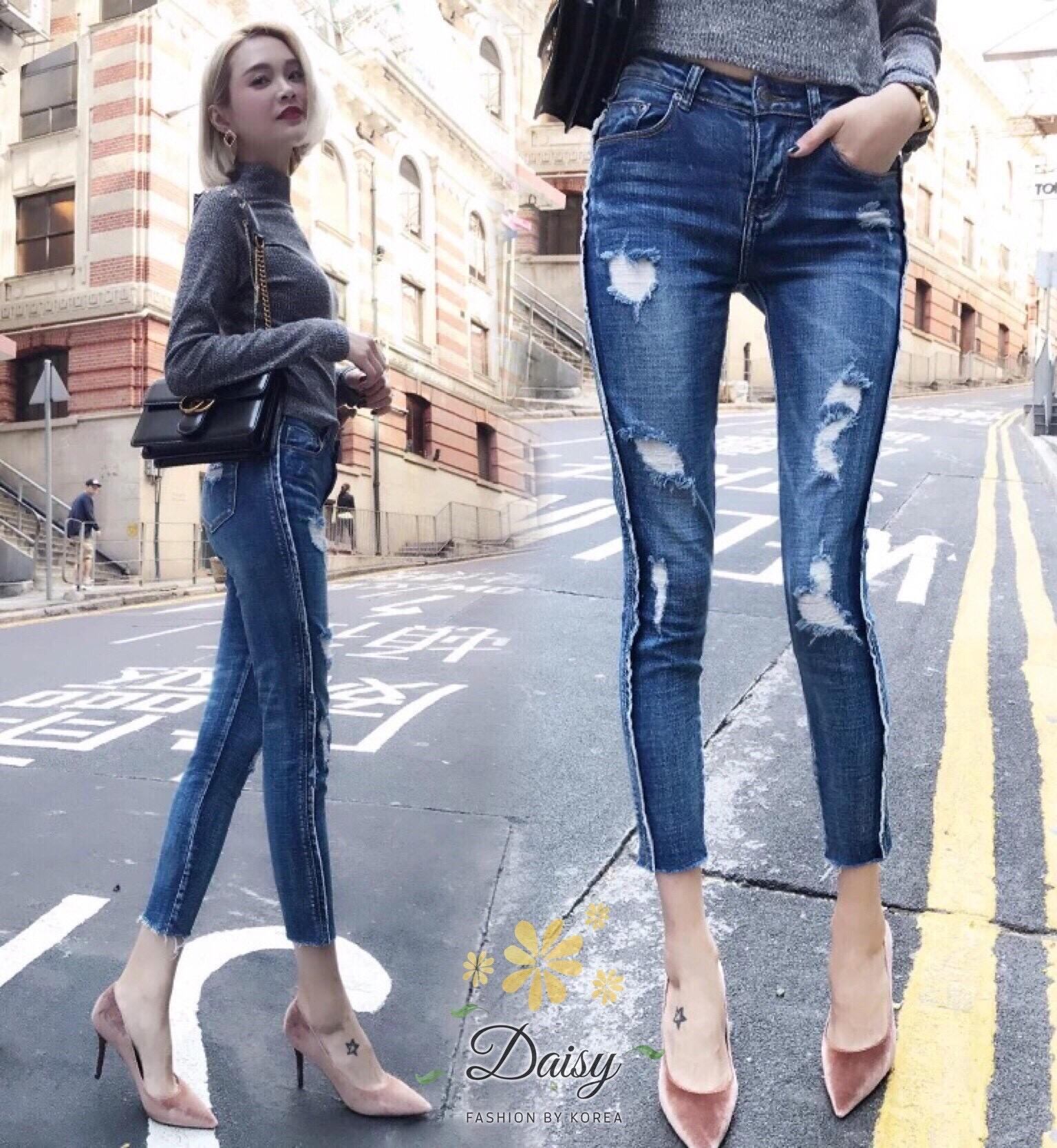 กางเกงยีนส์สวยเปะ