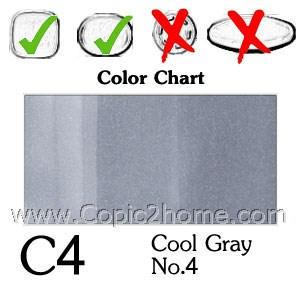 C4 - Cool Gray No.4
