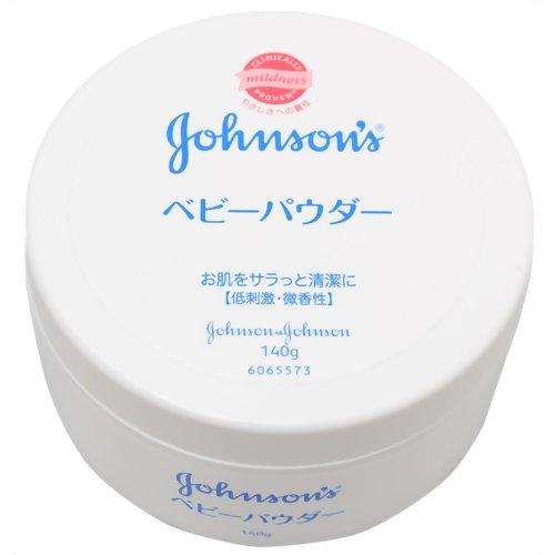 ลดราคาพิเศษ Johnson's Baby Powder 140g แป้งฝุ่นเนื้อสีขาว นุ่มเนียน จากญี่ปุ่นไม่มีสี ควบคุมความมันได้ดี ไม่ก่อให้เกิดสิว