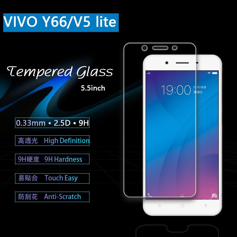 ฟิล์มกระจกนิรภัย 9H 2.5D (Vivo V5 LITE)