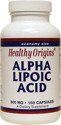 Healthy Origins - Alpha Lipoic Acid 300 mg 150 Capsules