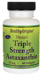 Healthy Origins - Astaxanthin 12 mg 60 Softgels สำเนา