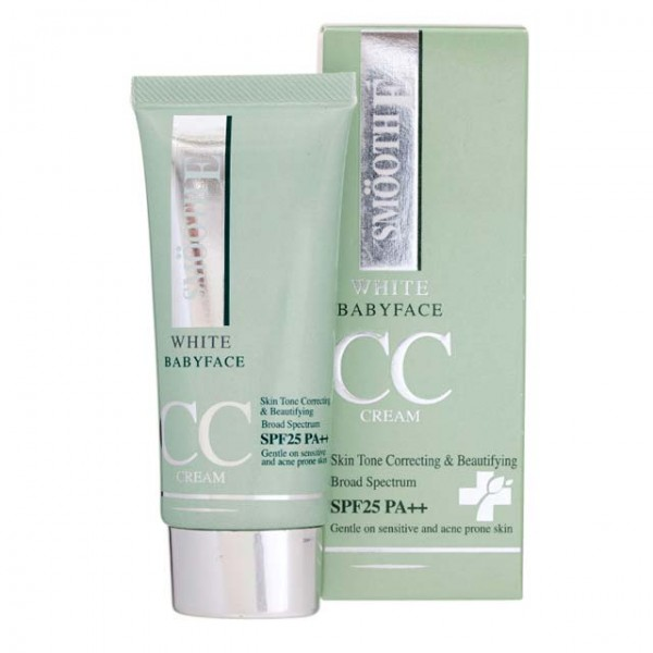 Smooth E White Baby Face CC Cream SPF25 PA+++ (30g)