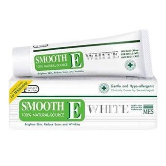 Smooth E Cream Plus White สมูท อี ครีม พลัส ไวท์ 60 g. ขนาดใหญ่ ลดเรือนริ้วรอย พร้อมชะลอการเสื่อมของสภาพผิว ให้ดูขาวกระจ่างใสและอ่อนเยาว์