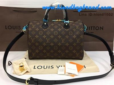 กระเป๋าแบรนด์New Louis Vuitton Speedy 30 CM Monogram Canvas