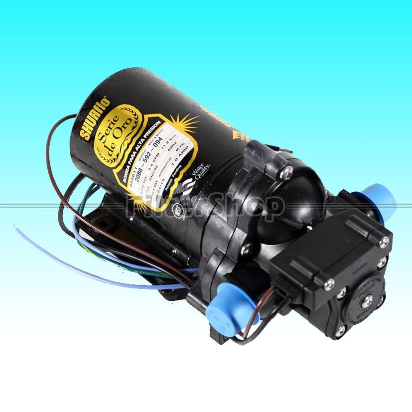 Pump Diaphragm (จ่ายน้ำ) SHURFLO 3 GPM 230 VAC Gold