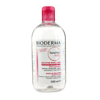 Bioderma Sensibio H2O ฝาชมพู ขนาด 500 ml