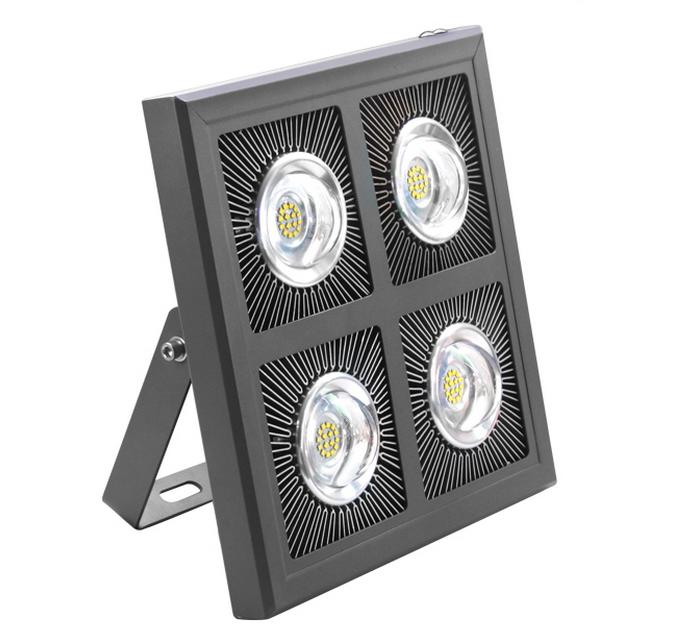 โคมไฟโรงงาน LED Low Bay 240W เหลี่ยม
