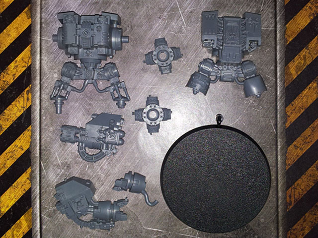 Space Marine Dreadnought AOBR single