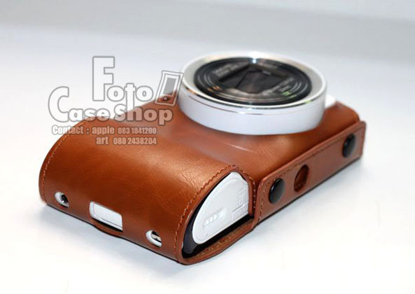 Full Body style Leather Case for Samsung Galaxy camera EK-GC100