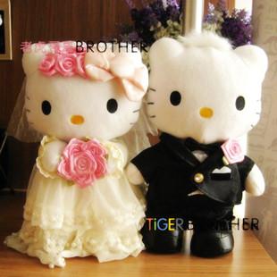 ตุ๊กตาคิตตี้แต่งงาน Kitty Wedding ขนาด 12 นิ้ว (ซื้อ 3 คู่ ราคาส่งคู่ละ 650 บาท)