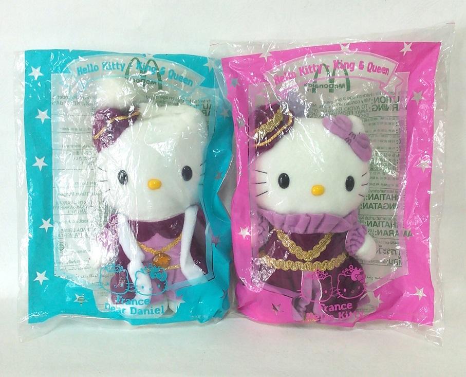ตุ๊กตา Hello Kitty-King & Queen France