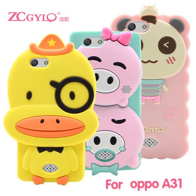 (412-035)เคสมือถือ Case OPPO Neo 5s/Joy5 เคสนิ่มการ์ตูน 3D น่ารักๆ