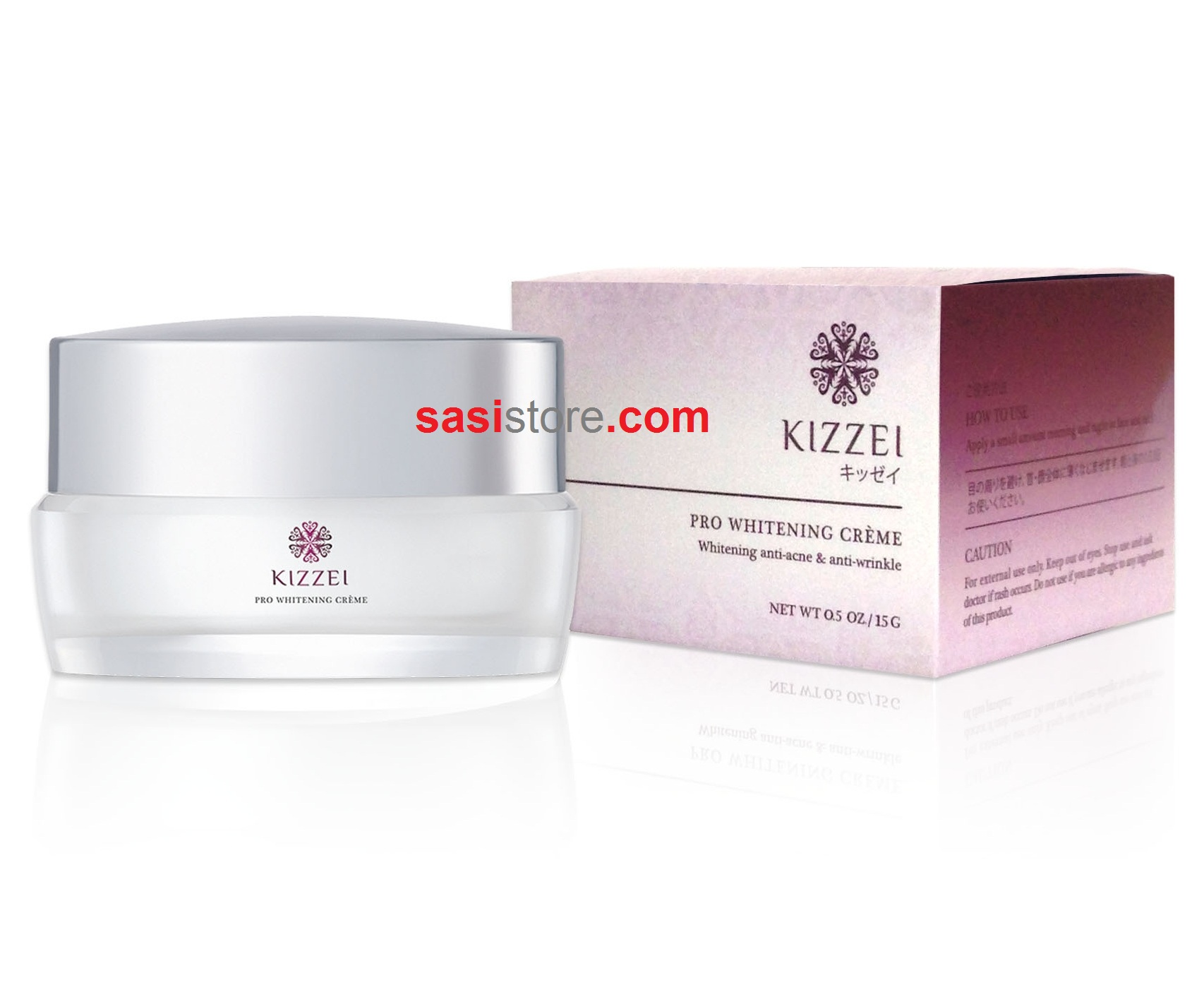 Kizzei Pro Whitening Crème 5g
