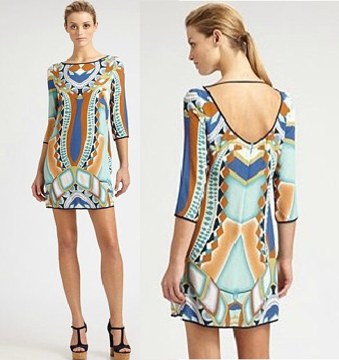 PUC63 Preorder / EMILIO PUCCI DRESS STYLE