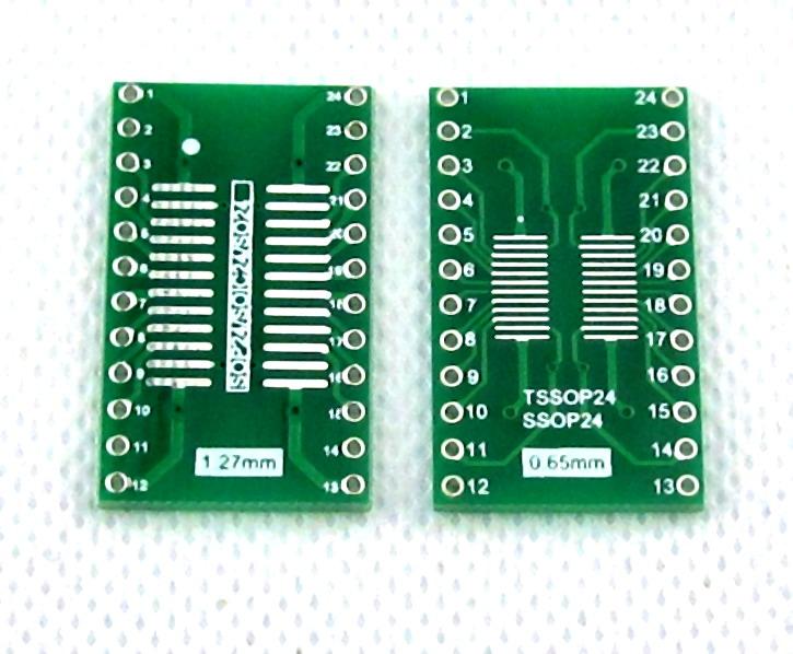 SOIC24 TSSOP24 SSOP24 SO24 SOP24 TURN DIP24 IC adapter Socket / Adapter plate PCB Suitable for IC socket