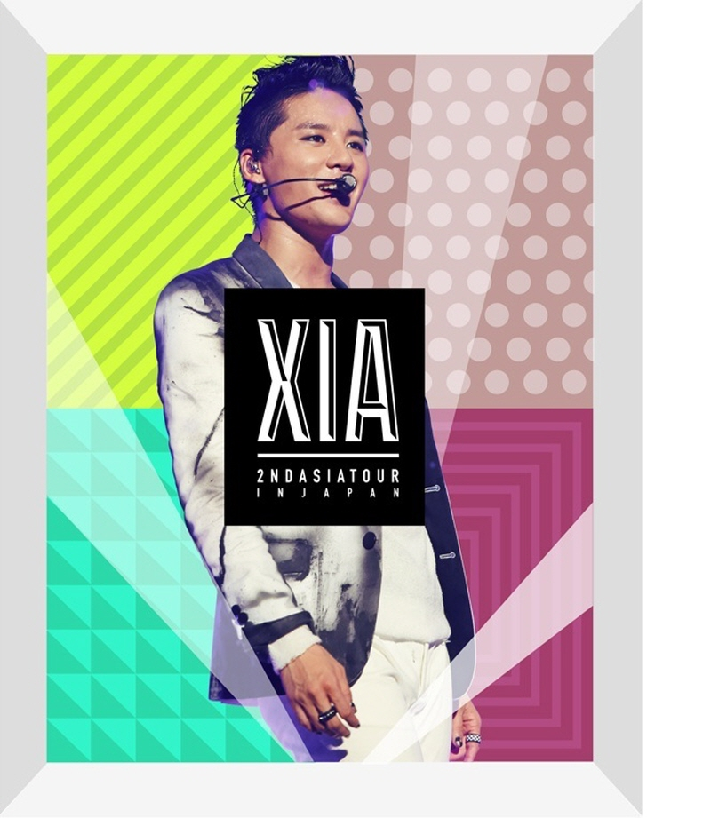 [Pre] XIA (Junsu) : 2ND ASIA TOUR CONCERT - INCREDIBLE (DVD)
