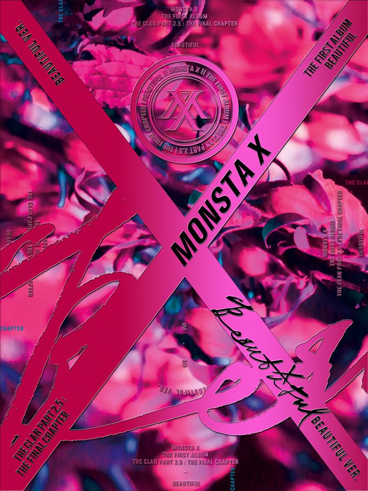 [Pre] Monsta X : 1st Album - BEAUTIFUL (Beautiful - Main Ver.) +Poster