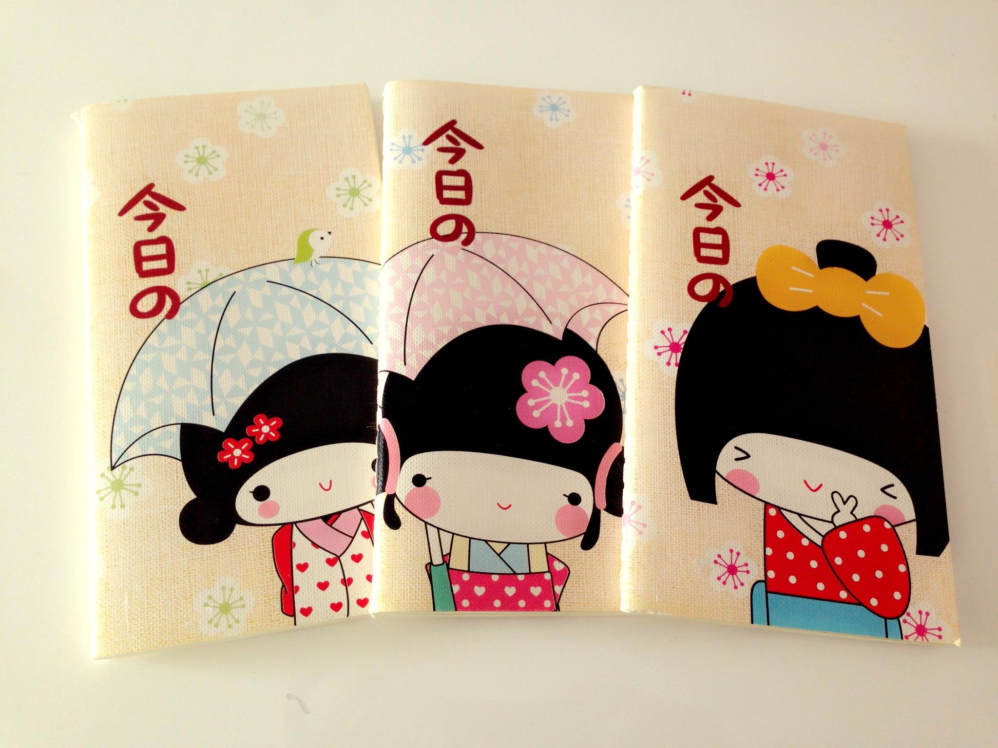 Notebook Cute Japanese Girl