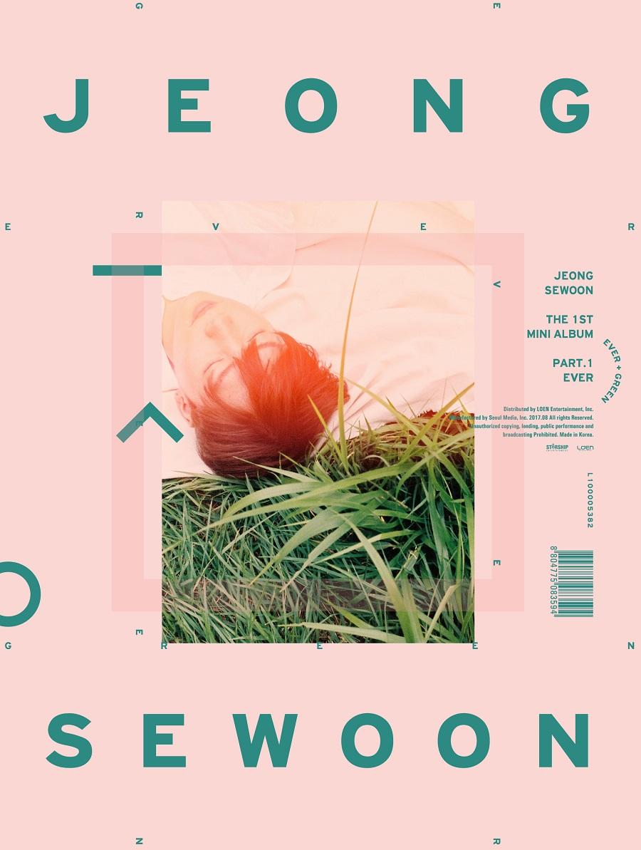 [Pre] Jeong Se Woon : 1st Mini Album Part.1 - EVER (GREEN ver.)