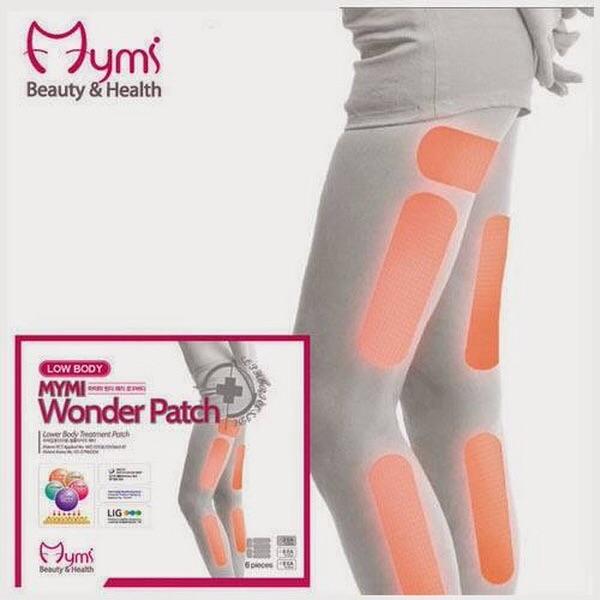 แผ่นแปะระเบิดไขมันที่ขา น่อง ต้นขา (Mymi Wonder Patch Low Body)