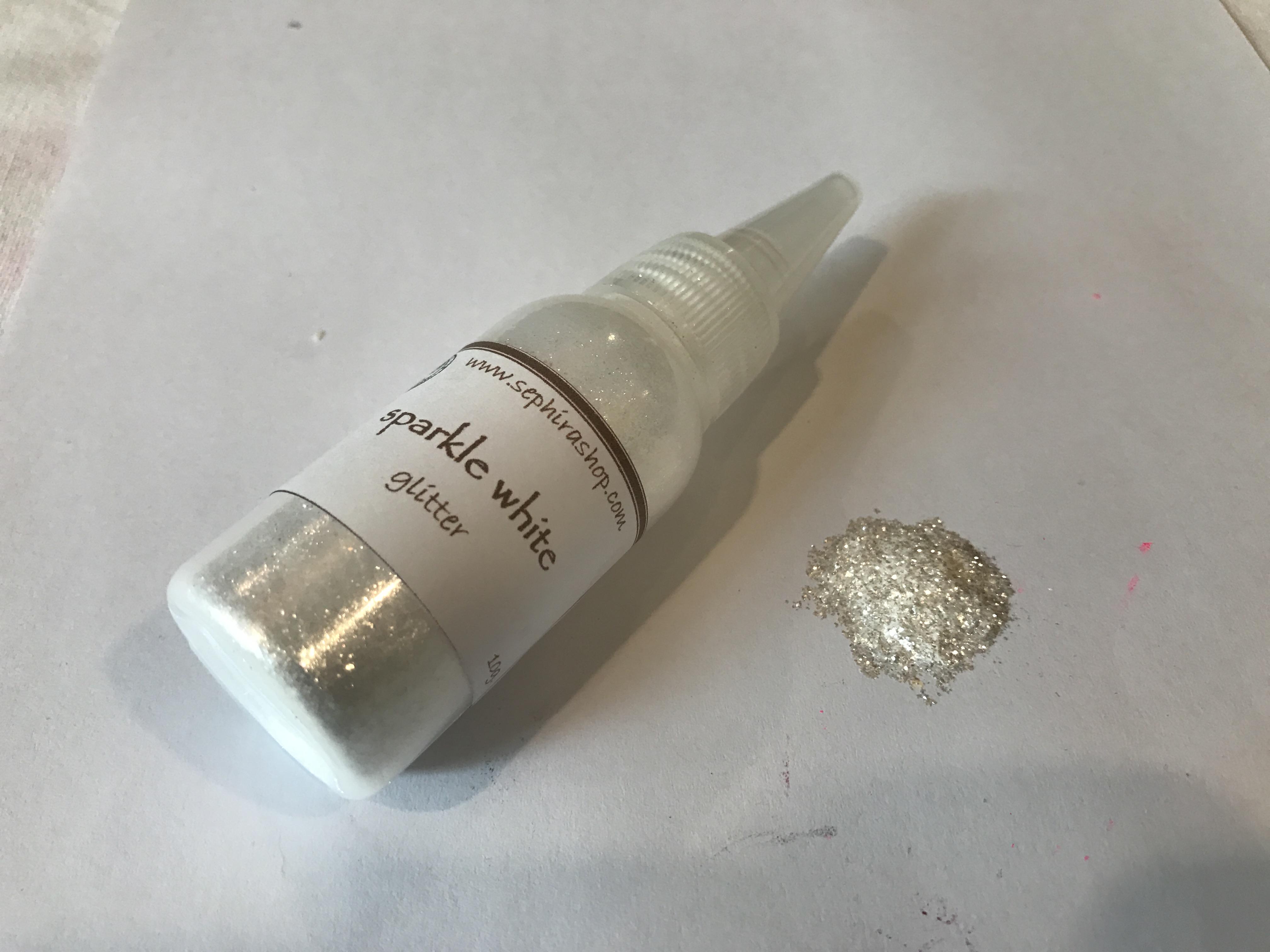 Sparkle White (Glitter) แววสีขาว