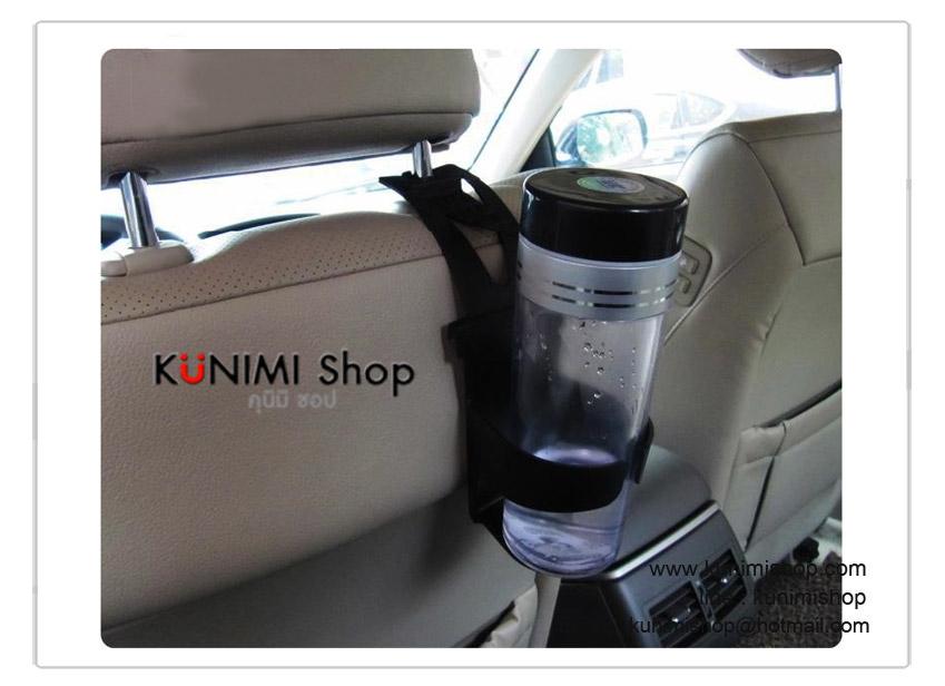 ที่ใส่ขวดน้ำ แก้วกาแฟ กระป๋องน้ำอัดลม ในรถยนต์ มีที่เกี่ยว และที่แขวน ในตัว สามารถแขวนได้หลายที่ในรถยนต์คะ