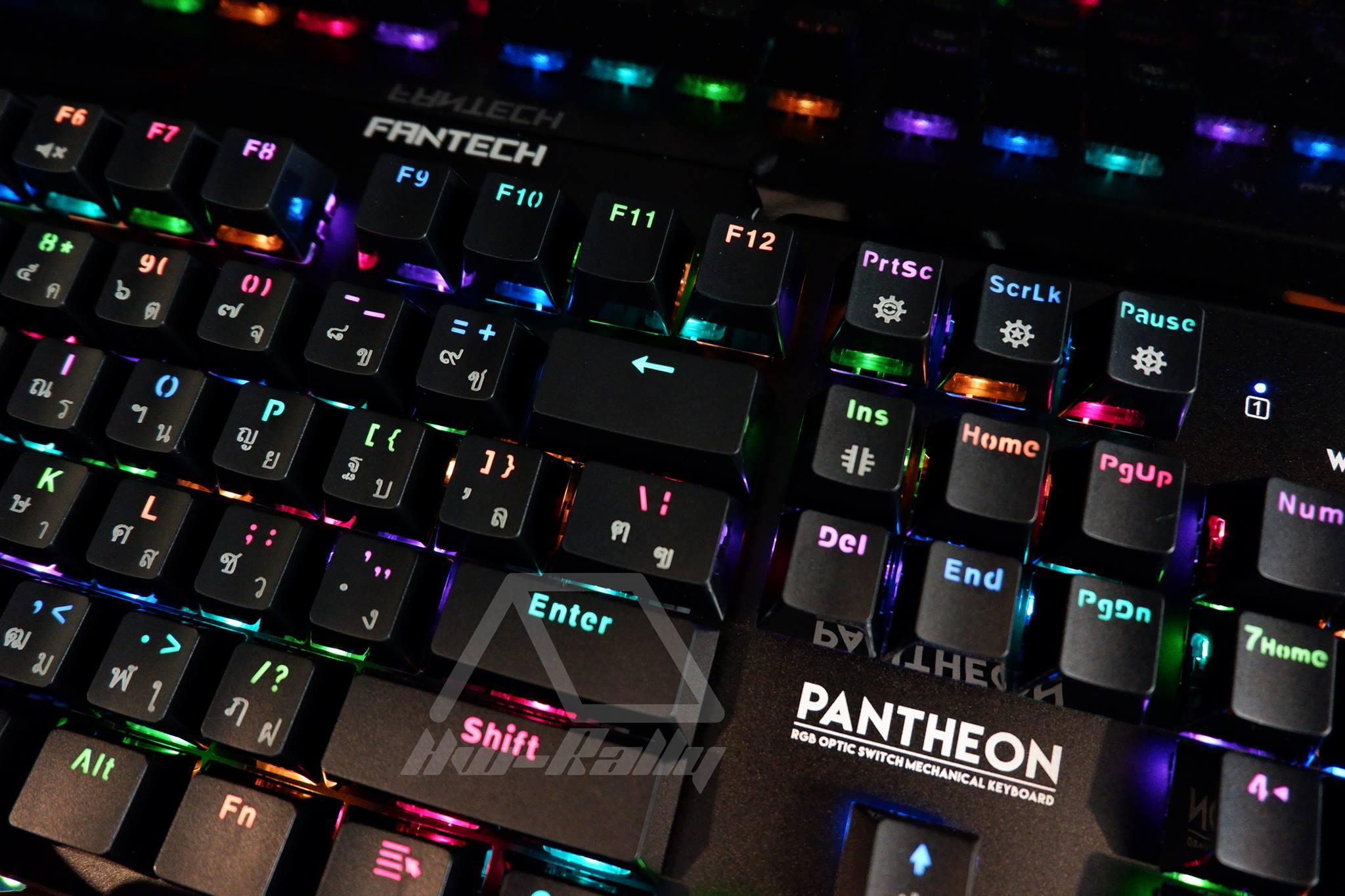 FANTECH MK-882 ออฟติคอลสวิชต์ แบบกันน้ำ ไฟ RGB