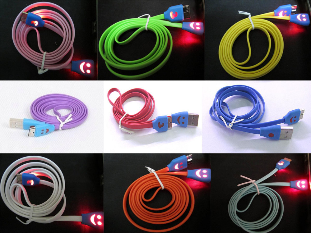 Cable USB 3.0 for Pc/HD/Note3 Light (1M) คละสี