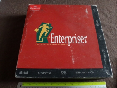 Enterpriserthe game to build a business