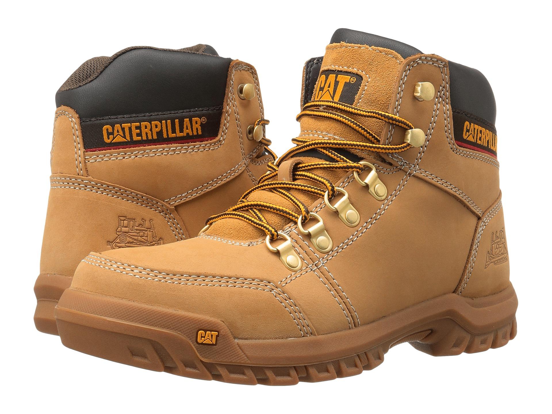 รองเท้า Caterpillar OUTLINE STEEL TOE WORK BOOT TOE Size 40 - 45
