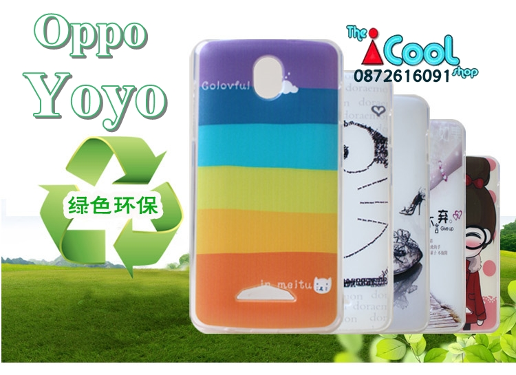 OPPO Yoyo - Cartoon Hard Case [Pre-Order]