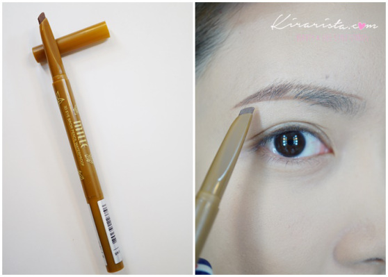 Mille 3D Eyebrow Pencil Waterproof # Light Brown น้ำตาลอ่อน
