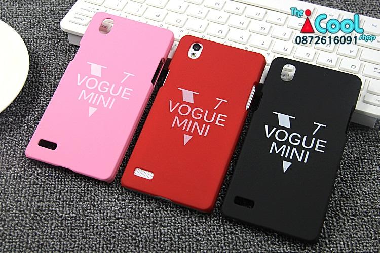 OPPO Mirror5, a51t- Vogue Mini เคสแข็งผิวด้าน[Pre-Order]