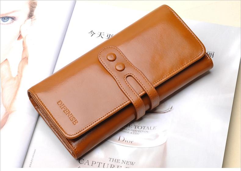 กระเป๋าสตางค์ผู้หญิง Difenise No.3 (หนังแท้)