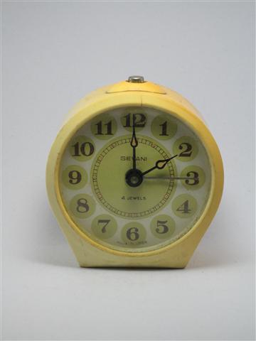 U755 นาฬิกาปลูกโบราณ SEVANI 4 Jewels USSR เดินดีปลุกดี ส่ง EMS ฟรี