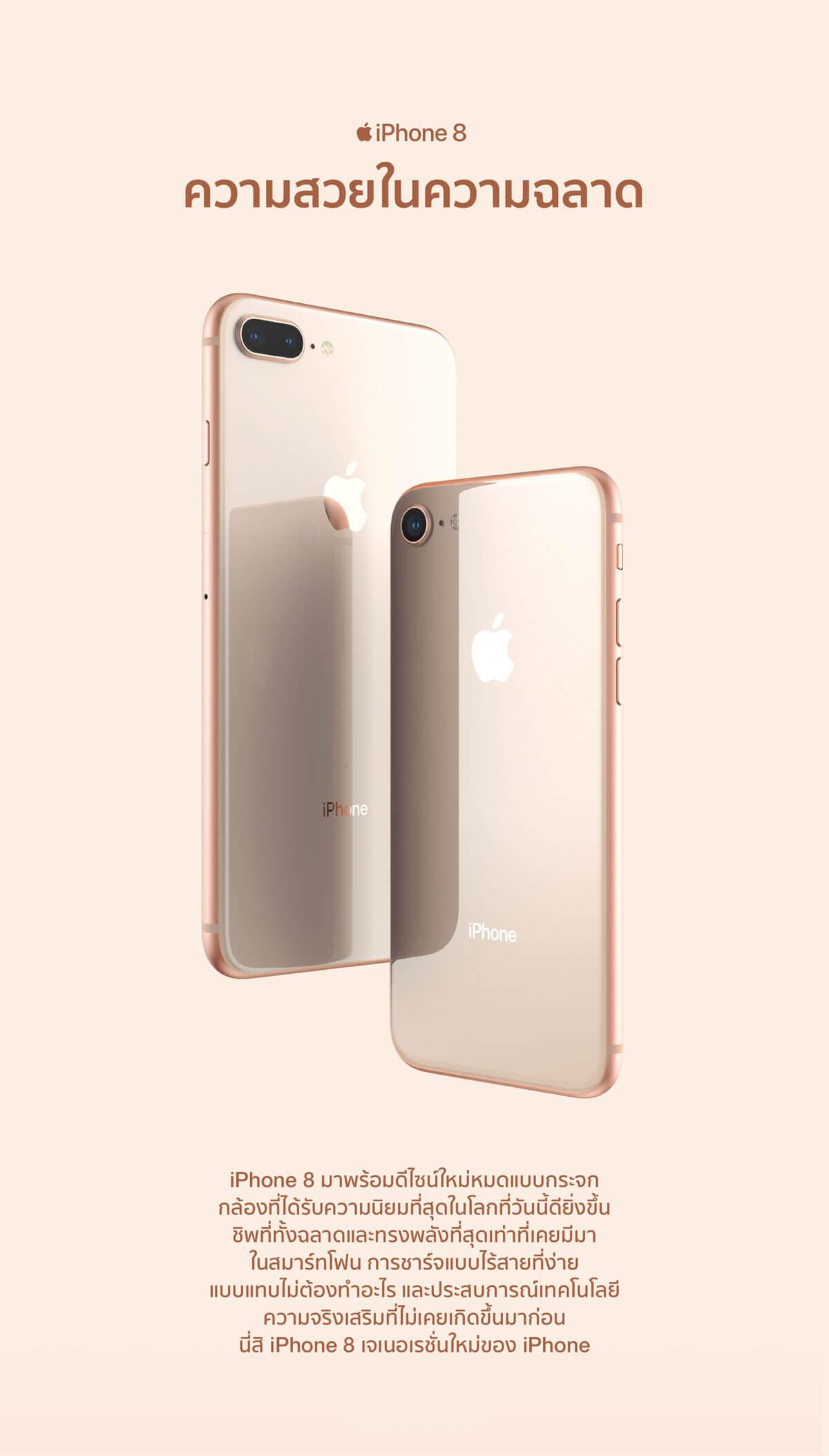 iPhone 8 ไอโฟน 8 ขนาด 64GB